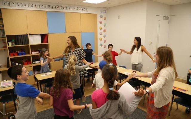 Students from the Shefa School. Courtesy of the Shefa School