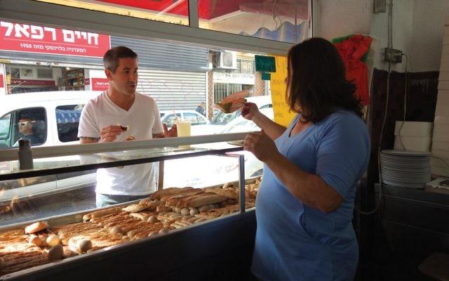 "Throughout ""In Search of Israeli Cuisine,"" Solomonov samples Israeli street food, upscale modern Israeli cuisine, Palestinian home cooking and everything in between. Florentine Films"