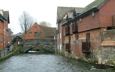 The City Mill in Winchester. Mill credit: Wikimedia Commons