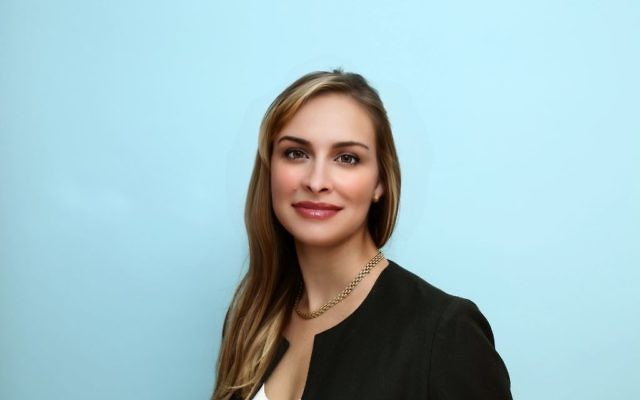 Brittan Heller is director of the Anti-Defamation League's new center for combatting cyberhate, to be based in Palo Alto, Calif., in Silicon Valley. Courtesy