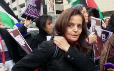 Rasmea Yousef Odeh, a Palestinian who lied about her involvement in terrorist attacks, will be deported today from the United States, where she has lived for 22 years.