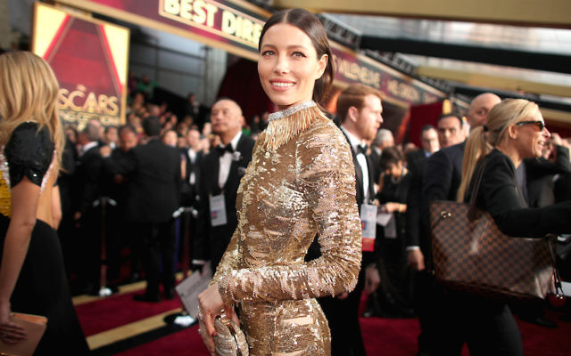 HOLLYWOOD, CA - FEBRUARY 26:  Actor Jessica Biel attends the 89th Annual Academy Awards at Hollywood & Highland Center on February 26, 2017 in Hollywood, California.  (Photo by Christopher Polk/Getty Images)