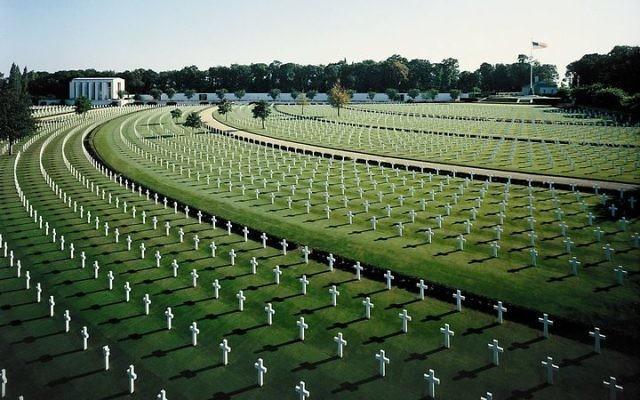 A U.S. military cemetery. Wikimedia Common