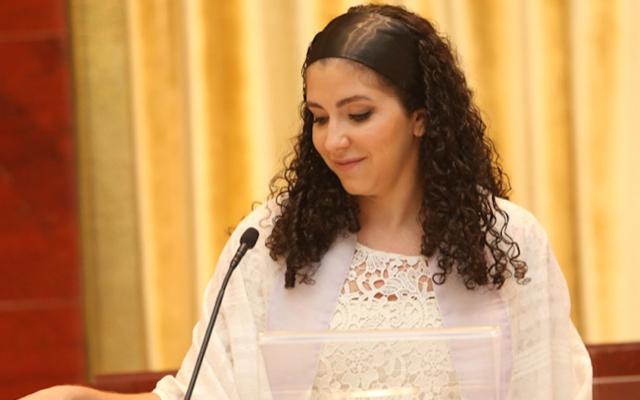 Rabbi Fernanda Tomchinsky-Galanternik (Courtesy of Congregation Israel Paulita)