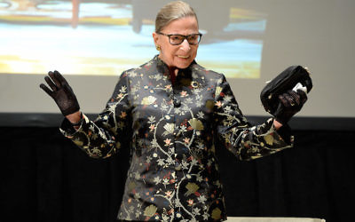 Supreme Court Justice Ruth Bader Ginsburg presents onstage at An Historic Evening with Supreme Court Justice Ruth Bader Ginsburg at the Temple Emanu-El Skirball Center on September 21, 2016 in New York City. Getty Images