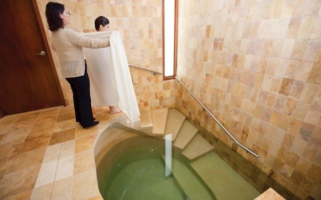 Testing the waters: A proposal for marriage couples and bar-bat mitzvah teens to use the mikveh. Mayyim Hayyim blog