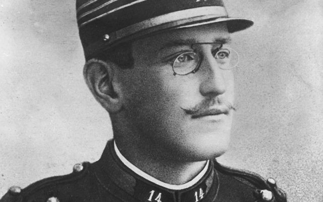 Straight line from Capt. Alfred Dreyfus to Vichy France to Marine Le Pen? Wikimedia Commons