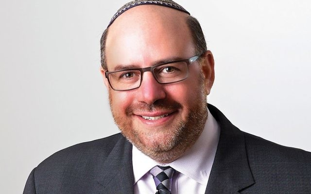 Rabbi Steven Wernick, the CEO of United Synagogue of Conservative Judaism's  congregational arm, will step down next June. Courtesy