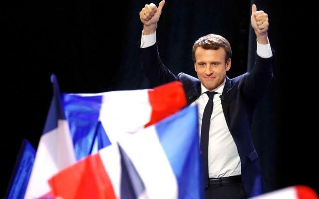 French President Emmanuel Macron. Getty Images