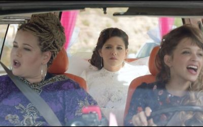 "Ronny Merhavi, Noa Koler and Dafi Alferon in a scene from Rama Burshtein's ""The Wedding Plan."" Courtesy of Roadside Attractions"