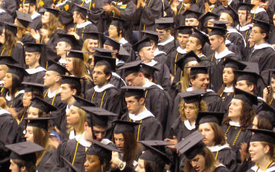 Only about a quarter of Jews who have graduated from college believe in God and say religion is important to them. (Wikimedia Commons)