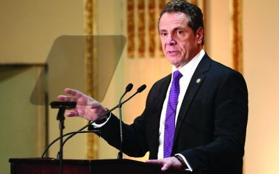 N.Y. Gov. Andrew Cuomo: Set aside $25 million in new budget to help non-public schools increase security. Getty Images