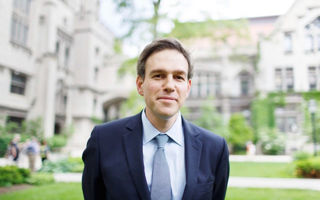 Bret Stephens at alumni weekend at the University of Chicago, June 7, 2014. (Jason Smith)