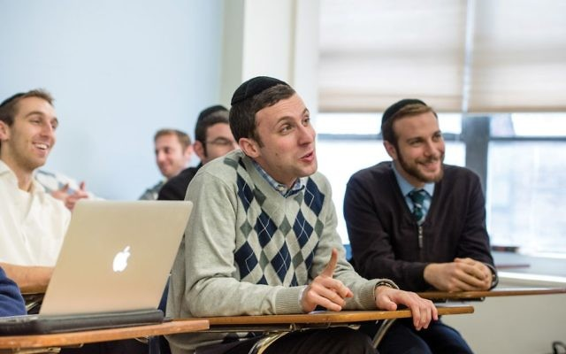 RIETS seminarians are learning how to listen, and more, as they prepare to deal with issues such as grief counseling, substance abuse and infertility.  Photos courtesy of YU
