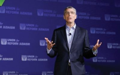 "URJ's Rabbi Rick Jacobs: ""Frustrated"" by new law."
