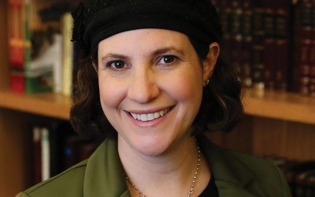 Rabba Sara Hurwitz. Courtesy of Yeshivat Maharat