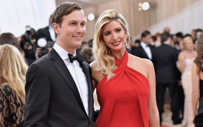 Jared Kushner and wife Ivanka Trump attending a Costume Institute Gala last month at the Metropolitan Museum of Art. Getty Images for People.com