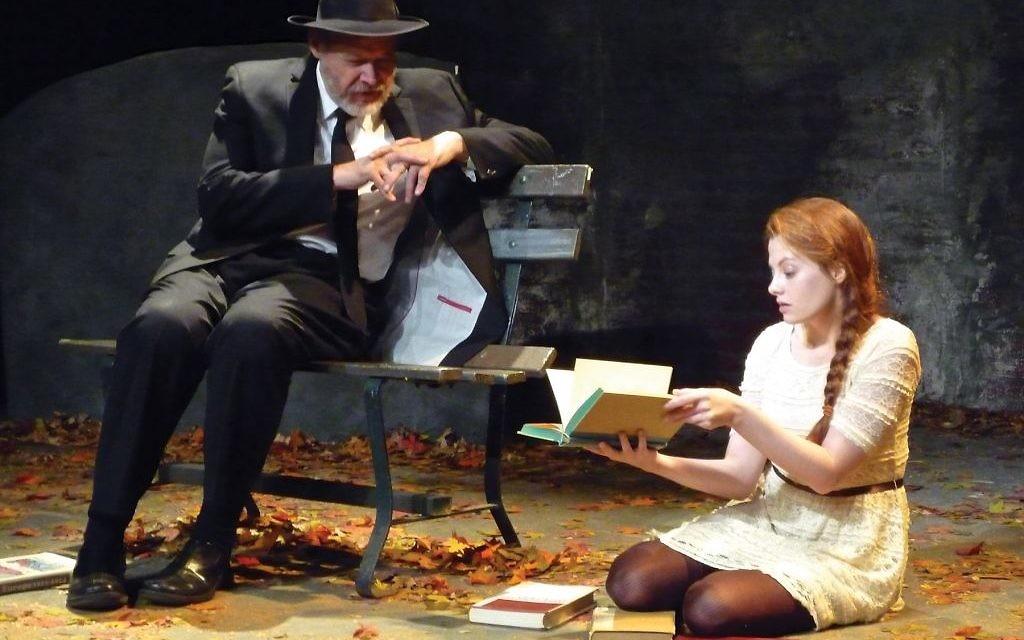 "GW Reed (left) and Andrea Lynn Green in ""Jubilee."" Courtesy of Bob Knapp"