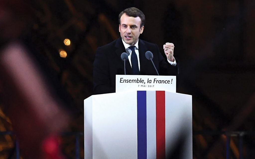 President Macron: France To Adopt Definition Of Anti-Semitism Mentioning Israel