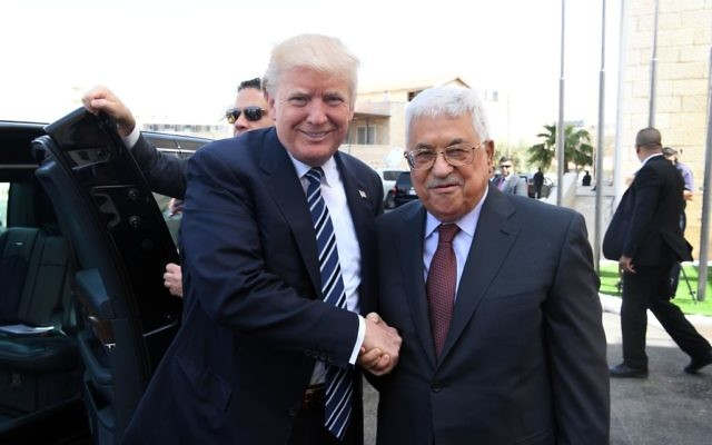 President Donald Trump has encouraged  Palestinian President Mahmoud Abbas to tighten the noose around Gaza to compel Hamas to relinquish control to his government.