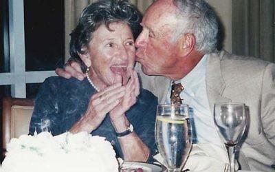 Muriel and Jack Brawarsky. Courtesy