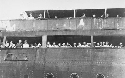 Not welcome in Cuba, or U.S.: Passengers on the SS St. Louis, refused permission to disembark in Havana or American shores, were forced to return to Nazi Europe. Wikimedia Commons