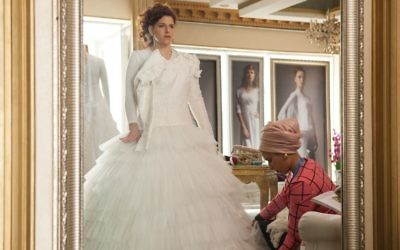 """Noa Koler as the take-fate-into-your-own-hands bride in Rama Burshtein's """"The Wedding Plan."""" Roadside Attractions"""