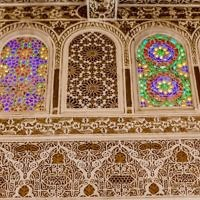 Engraved wall, Ibn Danan synaoggue, Fez, Morocco. Courtesy of Richard Nowitz