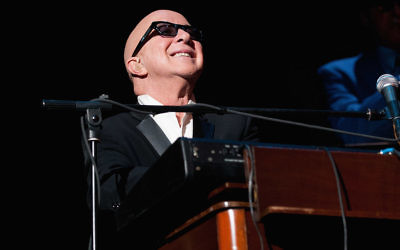 Paul Shaffer performs during the official Blues Brothers Revue at the Rialto Theater on March 5, 2012 in Joliet, Illinois. Getty Images