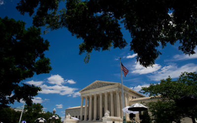 A exterior view of the U.S. Supreme Court June 26, 2017 in Washington, DC. Getty Images