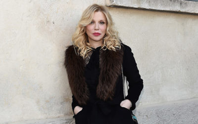 Courtney Love in Milan, May 7, 2017. (Stefania D'Alessandro/Getty Images for Fondazione Prada)