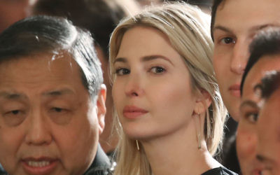 Ivanka Trump at the White House, June 5, 2017. (Mark Wilson/Getty Images)