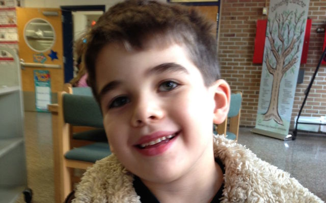 Noah Pozner, 6, was among the 20 child victims of the Dec. 14, 2012 shooting massacre at the Sandy Hook Elementary School in Newtown, Conn., that also claimed six adults. (Courtesy of the Pozner family, via Forward)