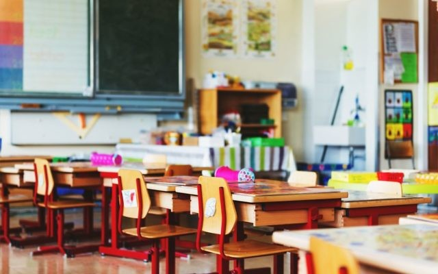 An illustrative photo of an American classroom. Shutterstock.