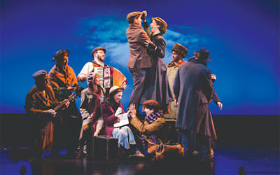 """The National Yiddish Theatre Folksbiene's production of """"Amerike – The Golden Land"""" follows in the Jewish footsteps of """"Fiddler on the Roof"""" and """"Indecent."""" Courtesy of Folksbiene"""