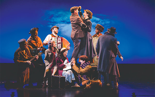 "The National Yiddish Theatre Folksbiene's production of ""Amerike – The Golden Land"" follows in the Jewish footsteps of ""Fiddler on the Roof"" and ""Indecent."" Courtesy of Folksbiene"