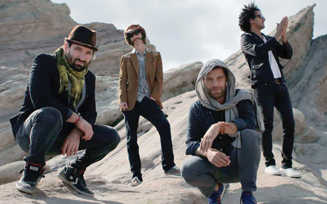 Rock of ages: Moshav brings it Jewish roots rock to the Highline Ballroom.