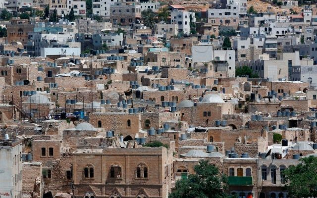 Hebron in the southern West Bank, June 2017. Getty Images