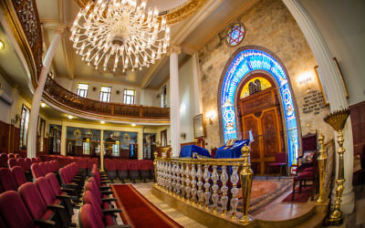 Heshet Le Avram Synagogue on Büyükada, the largest of the Princes' Islands near Istanbul. Courtesy of Richard Nowitz