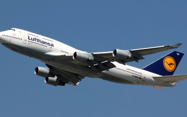 Five members of an interfaith delegation to Israel were prevented from boarding a Lufthansa flight from Washington, D.C., reportedly due to their activism on behalf of the Boycott, Divestment and Sanctions movement. Wikimedia Commons