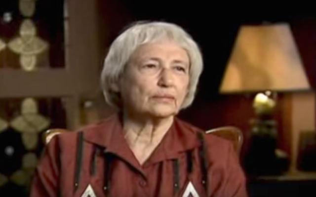 Margaret Bergmann Lambert (Screenshot from YouTube)