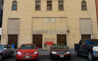 Congregation Hope of Israel in the lower Grand Concourse neighborhood of the Bronx, New York, closed in 2006. JTA
