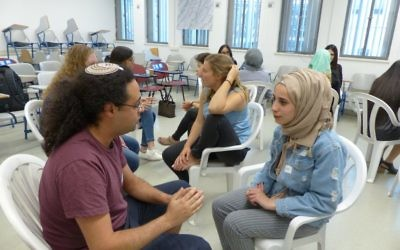 Students at Hadassah Academic College. Courtesy of Hadassah Academic College