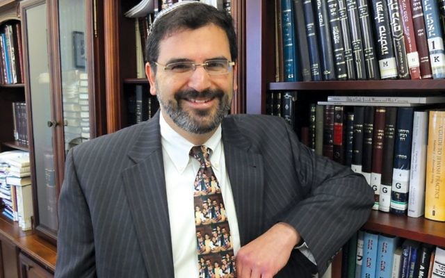 """Rabbi Asher Lopatin tells The Jewish Week that is was simply """"time"""" to move on after five years, and that Yeshivat Chovevei Torah is on sound footing. JW"""