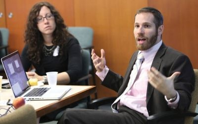 YU's Moshe Krakowski wants to create a Modern Orthodox high school classroom that's more relevant for students. YU.edu