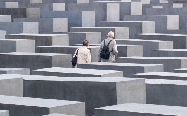 Reckoning with the past: The Peter Eisenmann-designed Holocaust memorial in Berlin. Wikimedia Commons