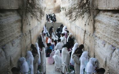 Away from the Western Wall controversies, a sense of awe. Talya Zisken