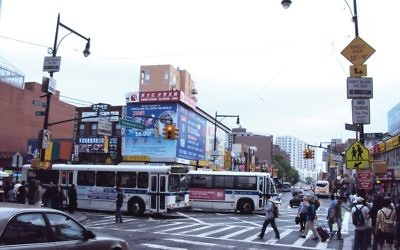 Flushing, Queens, was part of the author's territory when she reported for The Jewish Week; Elicia Brown, a Queens native, was her editor.  Wikimedia Commons