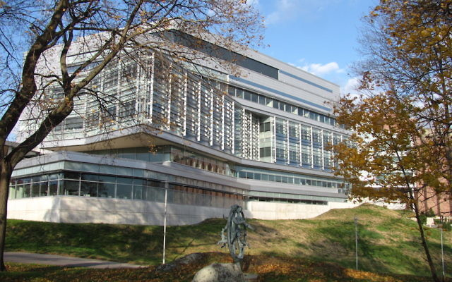 The Brandeis University campus. JTA