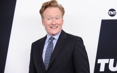 Conan O'Brien posing during an event at Madison Square Garden in New York City, May 17, 2017. (Daniel Zuchnik/WireImage)
